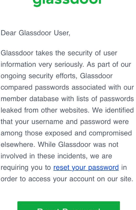 Forced Password Reset? Check Your Assumptions